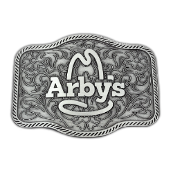 Arby's Belt Buckle Thumbnail